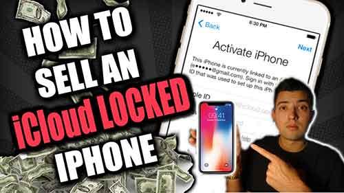Sell iCloud Locked Phone